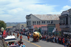 Kinetic Sculpture Race in Ferndale, California