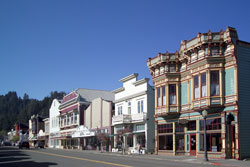Main Street in Ferndale, California